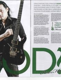 Herman Li - Kerrang Article