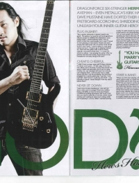Herman Li - Kerrang Article