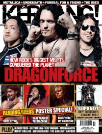 Herman Li - Kerrang Cover