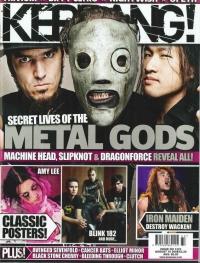 Herman Li - Kerrang Cover