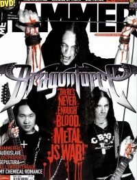Herman Li - Metal Hammer UK Cover
